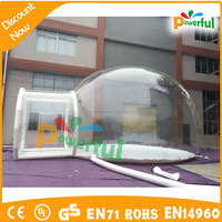 5m camping inflatable clear bubble tent for sale