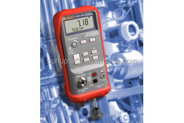 718Ex Intrinsically Safe Pressure Calibrator safe self-contained portable pressure calibrator