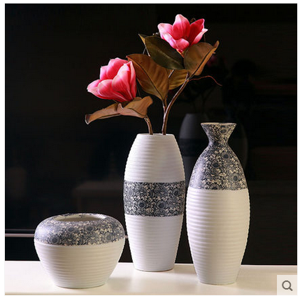 Unique Decorative Modern Chinese Porcelain Vases for home decoration