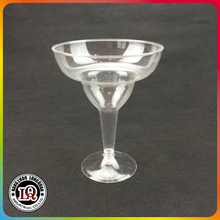 Disposable Clear Plastic Margarita Glass