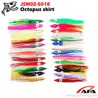 soft artificial bait raw material PVC soft plastic fishing lure octopus bait