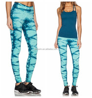 polyester spandex fabric customized sexy women workout pants