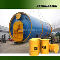 Best choice 10 tons waste tire recycling pyrolysis equipment