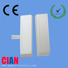2015 magnetic proximity switch door contact sensor alarm with competitive price