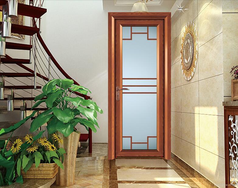 bao de aluminio puerta de cristal abatible de aluminio puerta del bao
