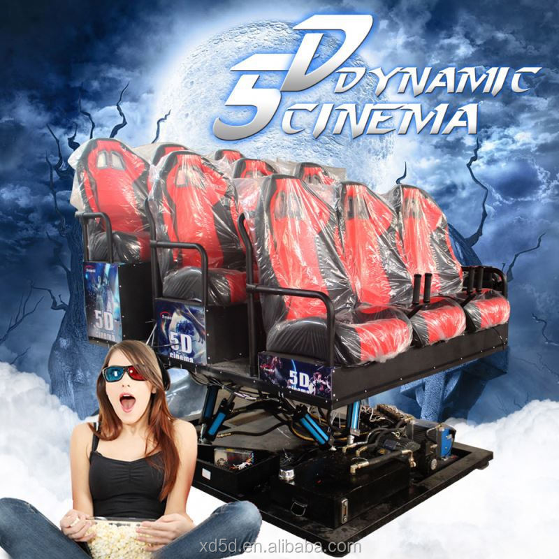 video Game 5D Cinema Amusement Park Rides For Sale