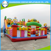 2016 New Finished Inflatable Bouncy Castle, Outdoor Inflatable Playground On Sale