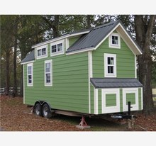 nice modern kit solar log wood prefab container house with wheels house