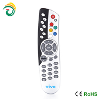 ir wireless remote control ceiling fan with rubber button 2014 new unique design