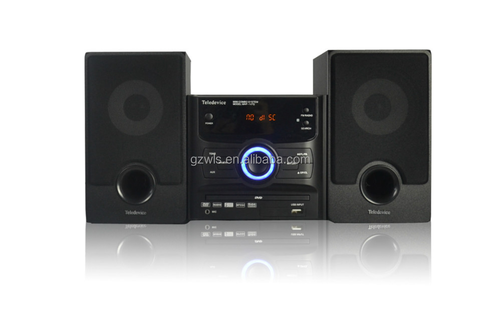 WLS K10 Private mould mini audio USB CD Stereo Music system with DVD CD Player