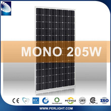 Tilt Chinese Popular New Products 2016 Portable 210W Price Per Watt Solar Panels