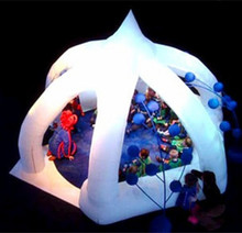 New!!! big inflatable led wedding party tent/inflatable arch tent for events