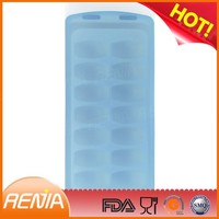 RENJIA no spill ice cube tray silicone ice cube number silicone shaped ice tray