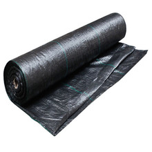 Factory Supply Weed Control Mat / Ground Cover Mesh Fabric / Agricultural Black Plastic Ground Cover