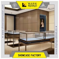 Elegant jewellery display showcase for shop furniture design