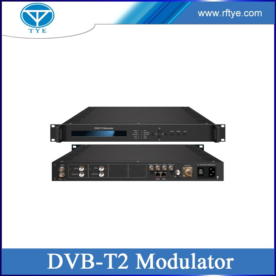 TY-6105 DVB-T2 single channel digital tv modulator