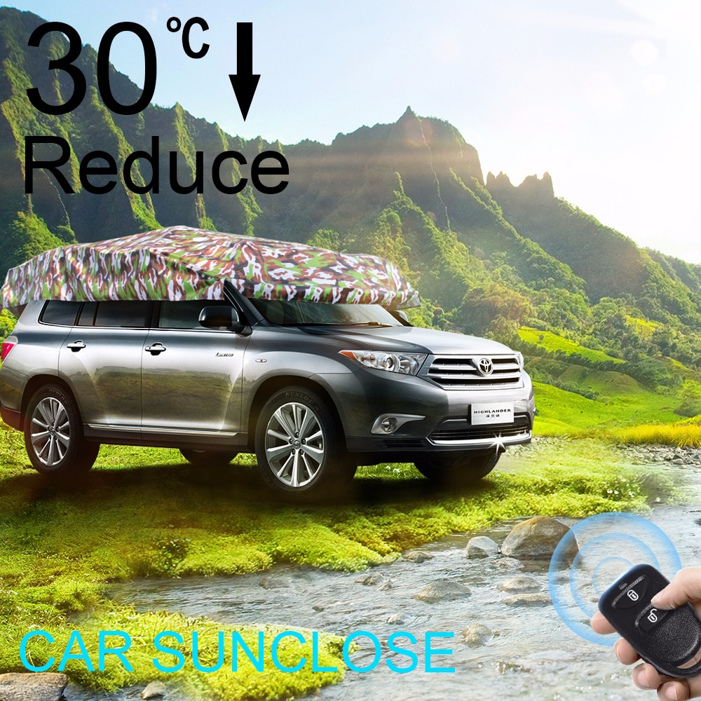 SUNCLOSE waterproof caravan body cover modified car accessories automatic car covers