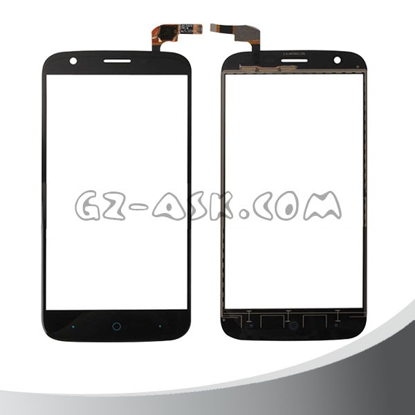 Wholesale For ZTE Blade L5 Touch Screen Digitizer and touch panel glass screen black color