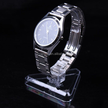 10cm Heigh Acrylic Men Watch Holder Watch Display Stand Clear Jewelry Display Rack Shelf