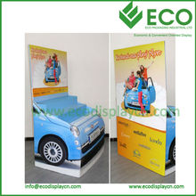 Cardboard Display Stand Cardboard Dump Bin Display With LCD Display Screen