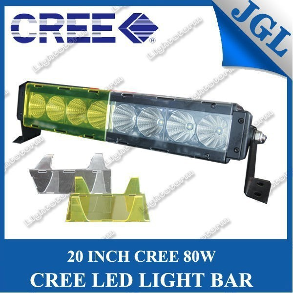5JG-LG-T680 off road led 20'' euro beam light bar mounts roll bar light mount 4WD led light bar amber