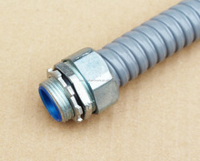 ID1.2 mm to ID 150MM galvanized steel liquid tight flexible conduit for wire protection