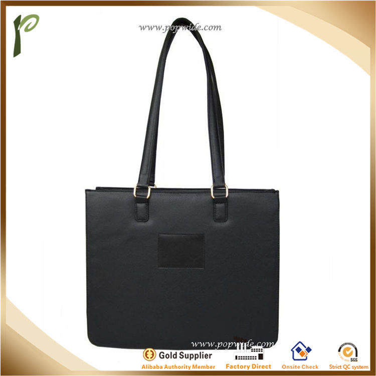 Popwide Bag Type High Quality PU Leather bag Handle leather bag
