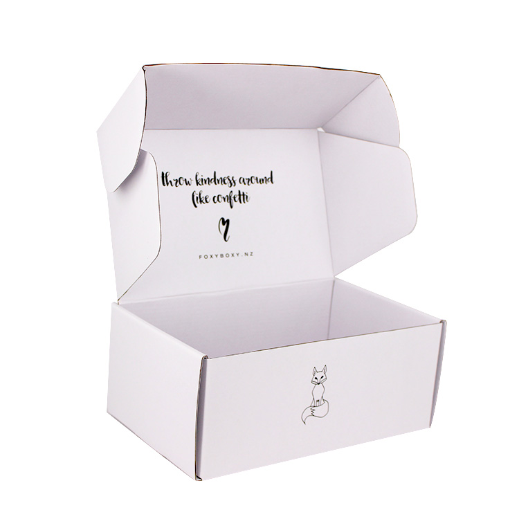 9dd744b09ac China Custom Cardboard Black Tuck Top Corrugated Mailing Box - Buy ...