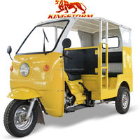 KST150ZK new style hot sale in Africa market three wheel solar electric tricycle for passenger