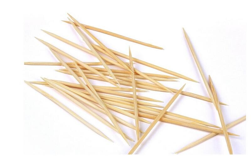 Bamboo Toothpick With Soft Tub Packing