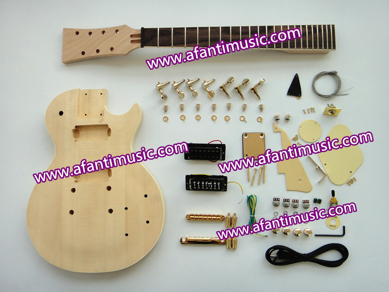 Afanti Music Lp Standard / 7 Strings Electric Guitar Kit (SDD-929K)