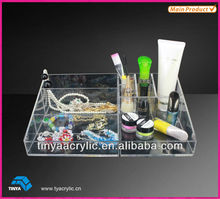 HOT SALE CLEAR ACRYLIC/LUCITE MAKE UP ORGANIZER