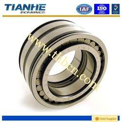 Full complement cylindrical roller bearing SL014972 with snap groove on the outer ring