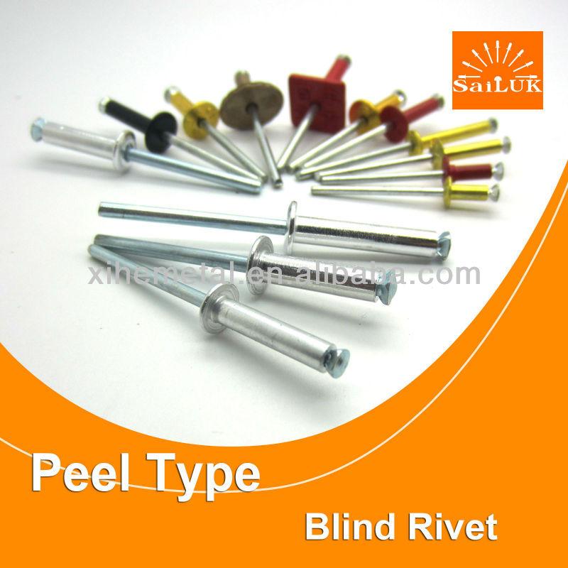 Persiana de tipo abierto remache tipos de tipos de cabeza for Precio de remaches de aluminio