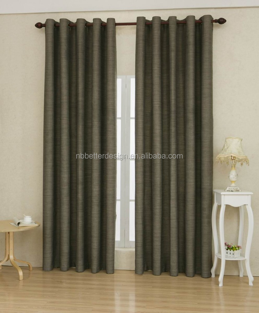 BSCI Certification Online Wholesale Solid Blackout Type Of Office Window Curtain