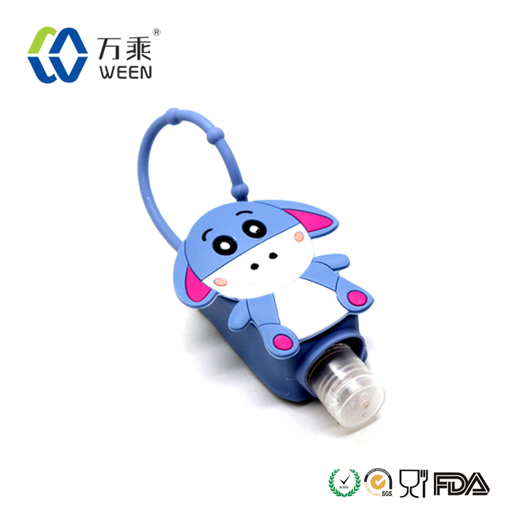 30ml silicone sanitize bottle holder