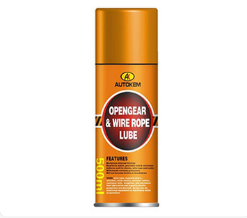 HIgh quality open gear & wire rope lubricant, hot sale metal pore penetrating lub aerosol spray free samples spray