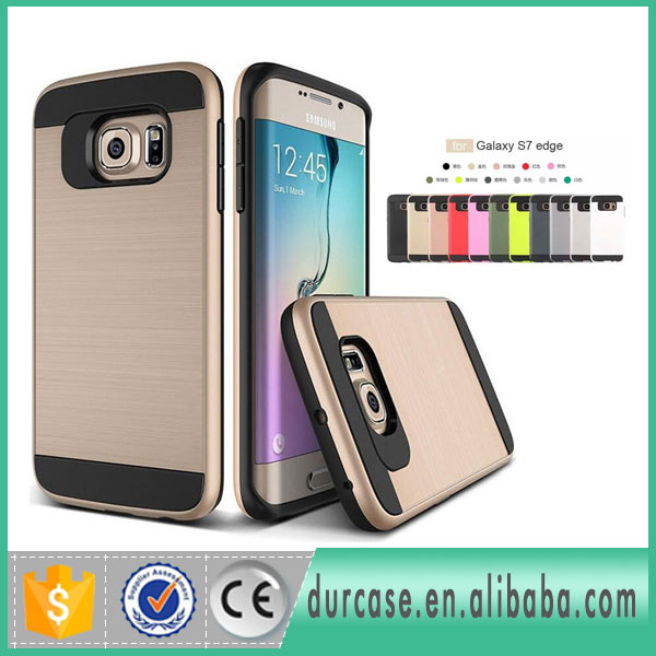 Hot Selling PC+TPU Wire Drawing Mars Combo Slim Armor Case For ZTE Zmax Pro Z981/Kirk Z963U/Z988/Z942/Imperial Max/Max Duo 4G