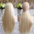 fast shipping hot sale natural brazilian long human hair wig blonde curly hair extensions
