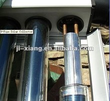 Heat Pipe High pressure Solar central heating system