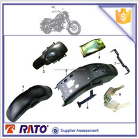 TC200 motorcycle plastic front fender, motorcycle rear fender, motorcycle parts for Italika