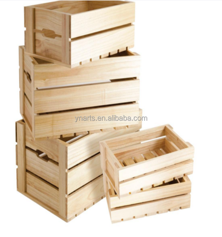 High quality cheap <strong>wooden</strong> crate box , vegetable crate for sale