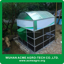 good sale New Portable Assembly Home Biogas Power Plant System