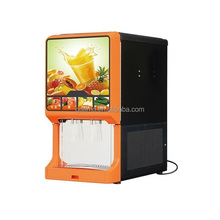 2 flavour post mix drink machine for concentrate fruit juice dispensing