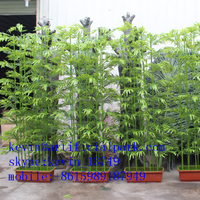 Made in guangdong artificial bamboo plant/decoration artificial bamboo poles fake bamboo