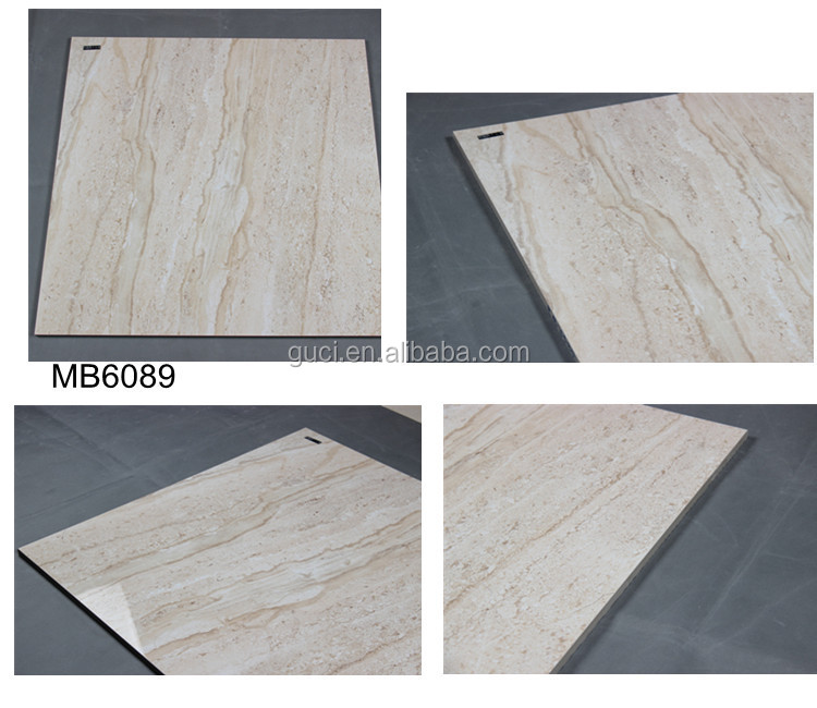 24x24 white full polished glazed porcelain garage floor tiles