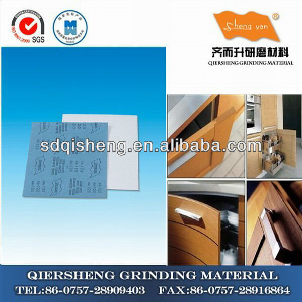 230mm*280mm coated abrasive sanding paper for paint