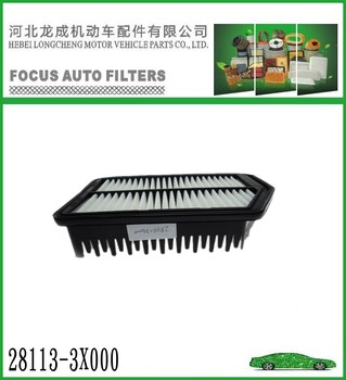 WHOLESALE KOREA CAR FOR HYUNDAI AIR FILTER 28113-3X000 WITH HIGH QUALITY