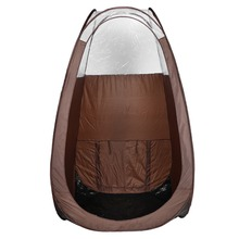 100%polyester oxford fabric 210D foldable portable pop up spray tan tent
