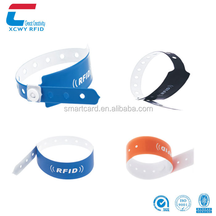 Personalized Disposable Alien H3 UHF RFID Wristband Tags